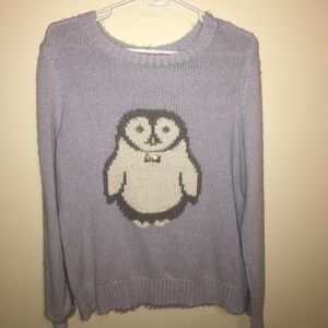 LC Lauren Conrad Sweaters - Lauren Conrad Penguin Sweater