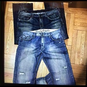 Buffalo David Bitton Other - ⏳Mens like new jeans buffalo and Pepe size 40&44