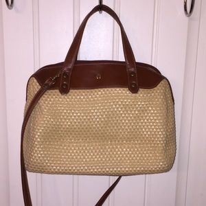 Etienne Aigner Handbags - Eitenne Aigner straw purse