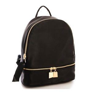 Handbags - Almost gone!! Sleek Mini Black Backpack