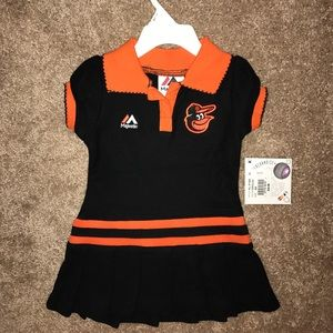 Majestic Other - Infant Girls' Baltimore Orioles Dress