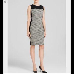 T Tahari Dresses & Skirts - New Tahari  Dakota Black Tweed dress size 6
