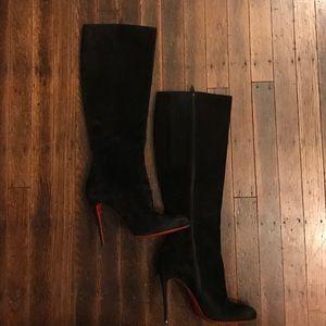 Christian Louboutin Shoes - Christian Louboutin suede 'Vitish' boots