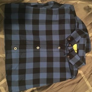 Five Four Other - Blue Men's Flannel from Five Four