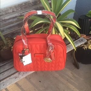 Christian Lacroix Handbags - Quilted satchel with charm by Christian Lacroix ❤️
