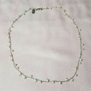 Sterling and mother of pearl necklace