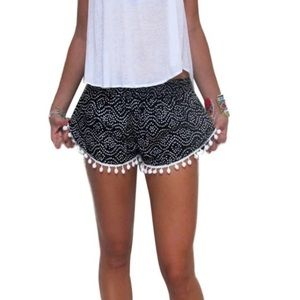 Pants - 🆕Just in✨Boho tassel casual beach shorts