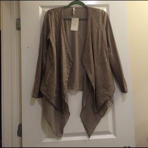 Miilla Clothing Jackets & Blazers - NWT Miila Taupe Jacket