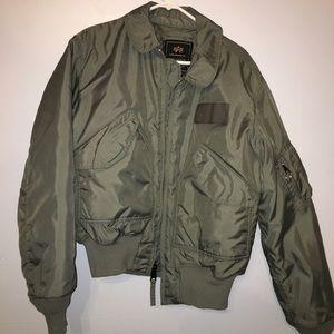 alpha industries Other - Alpha Industries bomber flight jacket