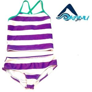 Kanu Surf Other - Kanu Surf Girls' Tankini Swimsuit in Purple Size 6