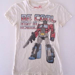 Transformers Vintage Inspired, Stay In School, Tee