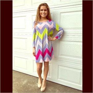 Dresses & Skirts - ✨ONLY 2 LEFT✨🌟 Chevron Crochet Back Dress