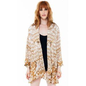 Novella Royale Jackets & Blazers - Novella Royale Mix Kimono