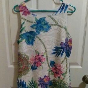 Jennifer Lopez Dresses & Skirts - J Lo floral dress