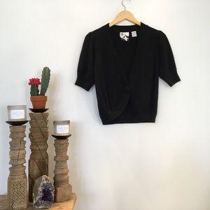 Barneys New York CO-OP Sweaters - Barney's New York Black Cashmere Shrug