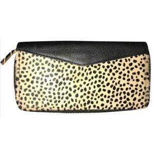 Aimee Kestenberg Handbags - Aimee Kestenberg Cheetah Haircalf Bifold Wallet