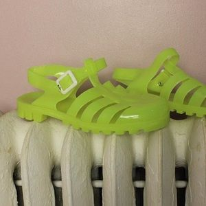 JuJu Shoes - Neon JuJu Jelly Sandals