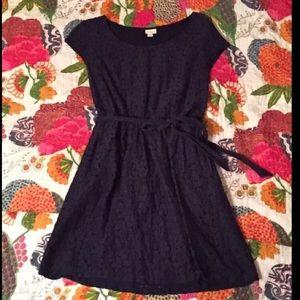 Merona Navy Lace Dress