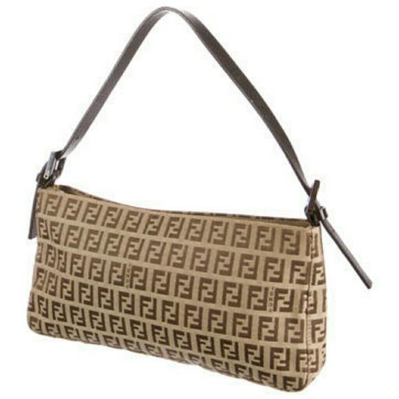 3c1466655fa1 Fendi Handbags - Vintage Fendi zucchino canvas bag