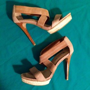 H by Halston Shoes - H by Halston heels 👠 great condition