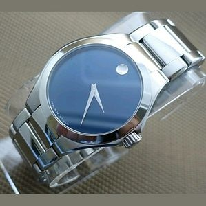 Movado  Other - NWT $1100 Stainless steel Defio Men's Watch
