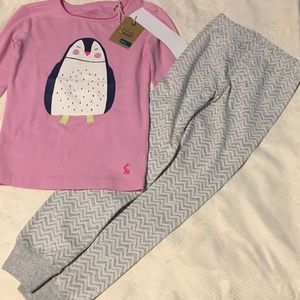 JOULES  Other - 🦄Joules gorgeous pajamas set NWT size 5-6🦄