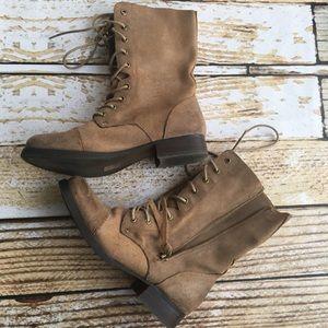 Aldo Shoes - Aldo military style suede combat boots size 8