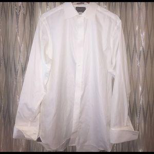 Black Brown 1826 Other - Men's black & brown 1826 dress shirt white