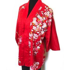 Vintage Jackets & Blazers - Vintage Kimono Jacket