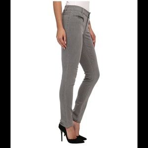 Two by Vince Camuto Denim - Two by Vince Camuto Zip Pinstripe Skinny Jeans 2