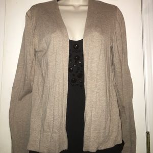 EUC ON Open Front Cardigan