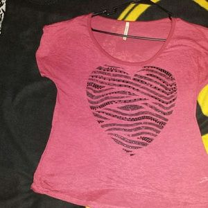 American Age Tops - American Age Heart Top
