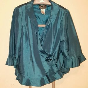 Alex Evenings Jackets & Blazers - Beautiful Teal Formal jacket by Alex Evenings