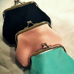 Handbags - Plush Coin Purse
