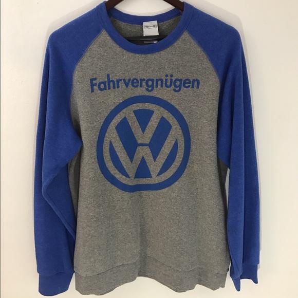 Volkswagon Shirts Volkswagen Fahrvergnugen Sweatshirt Size Large