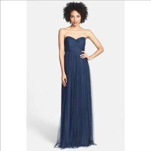 Jenny Yoo Dresses - Jenny yoo navy aiden gown size 10