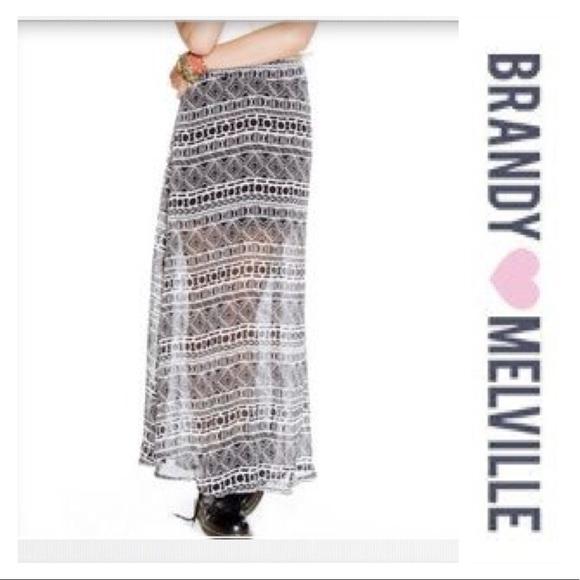 Brandy Melville Dresses & Skirts - Brandy Melville | Tribal maxi skirt