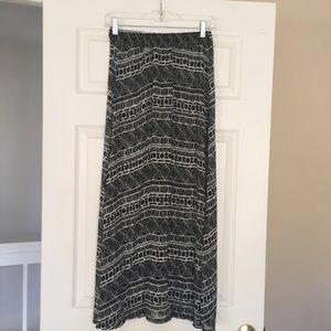 Brandy Melville Skirts - Brandy Melville | Tribal maxi skirt