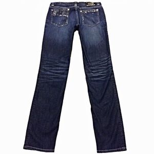 COOGI Denim - Coogi CG Straight SZ 7/8 Dark Jeans