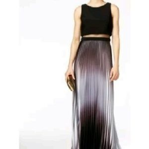 Betsy & Adam Dresses & Skirts - Betsy & Adam Pleated Ombre Illusion Gown