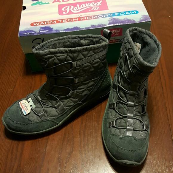 28709031587dd Skechers Shoes | 6 65 Reggae Fest Steady Gray Boot Nwt | Poshmark