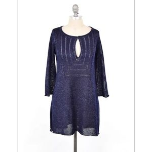 Calypso St. Barth Sweaters - Calypso St. Barth metallic yarn tunic