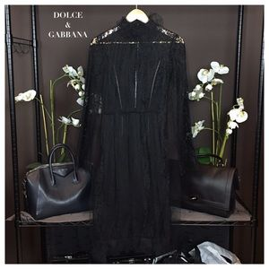Dolce & Gabbana Dresses & Skirts - NWT DOLCE & GABBANA BLACK DRESS