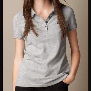 Burberry Tops - Authentic Burberry Check Trim Piqué Polo Shirt.