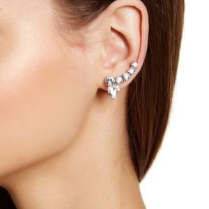 Marchesa Jewelry - Marchesa Medium Crystal Crawler Earrings