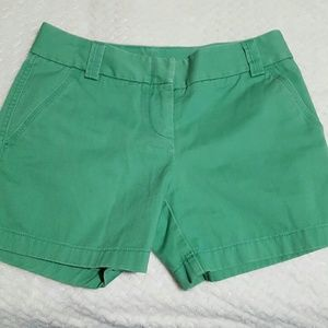 J. Crew Pants - J. CREW Green Shorts City Fit Size 2