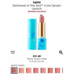 Other - tarte SIESTA Color Splash Lipstick Rainforest Sea