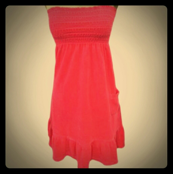 6245c9ac6f Juicy Couture Other - Juicy Couture Terry Cloth Dress   Cover up - NWOT