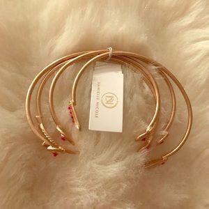 Danielle Nicole Jewelry - Danielle Nicole Aztec Cuff Set