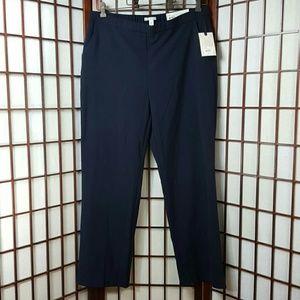 DANA BUCHMAN Straight Mid Rise Pants Size 16
